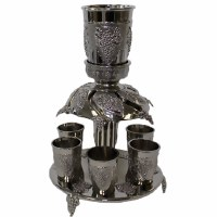 Nickel 6 Cup Fountain #FWA84802N