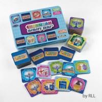 Chanukah Memory Game in Collectible Tin