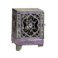 Gemstone Charity Box Purple