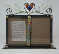 "Picture Frame Double Wedding Design 5"" x 7"""