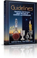 Guidelines to Kiddush and Havdalah [Hardcover]