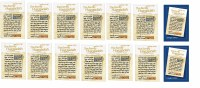 Full Seder Set - 2 Family Haggadahs: Enlarged Edition + 12 Family Haggadahs: Regular Edition with 14 Pesach Seder Book Cards [Paperback]