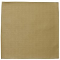 """Square Vinyl Charger Gold 15"""" x 15"""""""