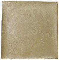 """Square Vinyl Charger Gold Marble Design 15"""" x 15"""""""