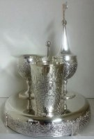 Havdallah Set 4 Piece Jerusalem Design