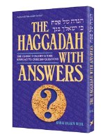 Haggadah With Answers [Hardcover]