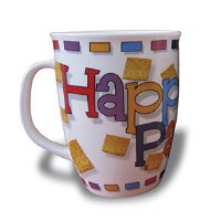 Happy Passover Ceramic Mug in a Box