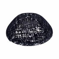 iKippah Black Velvet Shimmer Size 2