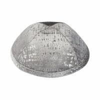 iKippah Gray Velvet Shimmer Size 4