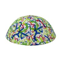 iKippah Aleph Bais Neon Size 3