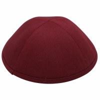 iKippah Maroon Cotton Size 3