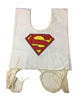 Cotton Tzitzis with Silk Screened Super Hero 'S' Design Size 3
