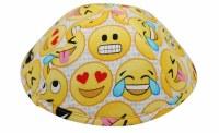 iKippah Emojis Yellow Size 3