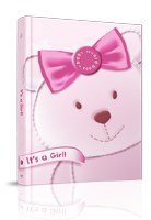 It's a Girl Baby Record Book [Hardcover]