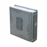 Siddur Kaftor Veferach Small Size Sefard Gray Blossoms Design [Hardcover]