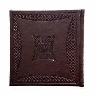 Zemiros Kaftor for Shabbos and Yom Tov Faux Leather Hebrew Square Maroon [Hardcover]