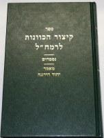 Kitzur HaKavanos Ramchal