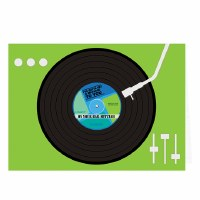 Greeting Card Bar Mitzvah ipod Shuffle Design