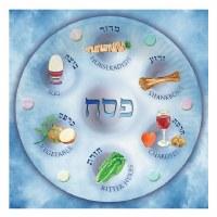 Passover Napkins Seder Plate Design