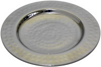 Hammered Nickel Kiddush Cup Tetzel Tray