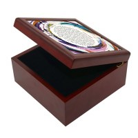 Tefillah L'Morah Keepsake Box Circle Design
