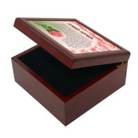 Tefillah L'Morah Keepsake Box Flower Design