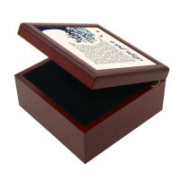 Tefillah L'Morah Keepsake Box Tree of Life Design