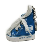 Key Chain I Love Israel Shoe