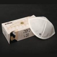 Kippa In a box 20 per box Whit