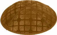 Luggage Blind Embossed Kippah without trim
