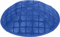Royal Blind Embossed Kippah without trim