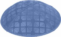 Wedgewood Blind Embossed Kippah without trim