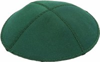 Emerald Suede Kippah Medium