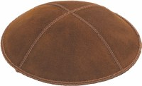 Luggage Suede Kippah Medium