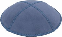Wedgewood Suede Kippah Medium