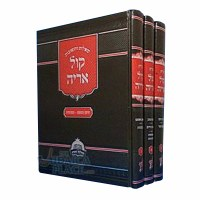 Kol Aryeh Sheilos U'Teshuvos 3 Volume Set [Hardcover]