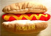 Plush Toy Kosher Hot Dog