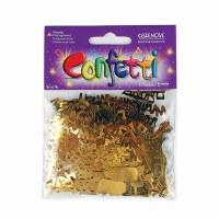 L`Chaim Gold Confetti