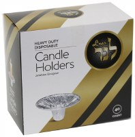 Disposable Candle Holders 40 Count