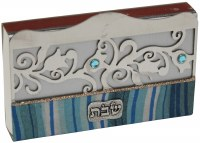 Match Box Cover Lazer Cut Ocean Blue Design