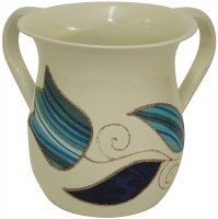 Lilly Art Wash Cup Stainless Ocean Blue