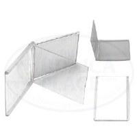 Tefillin Mirror - Flip Mirror White with Insert Customizable