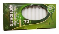 Standard Shabbos Candles 72ct.