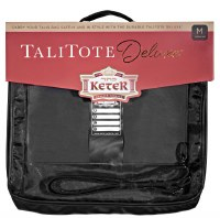 Tallis Tote Deluxe Leather Look Rain Proof Clear Front Extra-Large