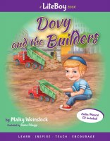 Lite Boy #2: Dovy and the Builders - Book and Music CD [Hardcover]