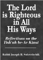 The Lord Is Righteous in All His Ways [Hardcover]