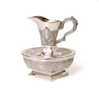 Mayim Achronim Silver Plated Detailed Filigree Design