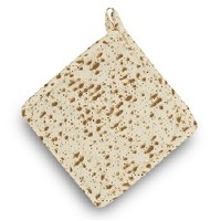 Pot Holder Trivet Matzah Design