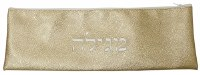 Vinyl Megillah Bag with Zipper Closing Gold Mosaic Bubble Design 17""