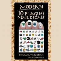 Manicure Ten Plaque Modern Nail Decals